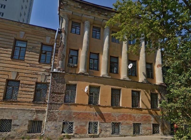 Историческое сооружение наулице Сакко иВанцетти вВоронеже ожидает реставрация