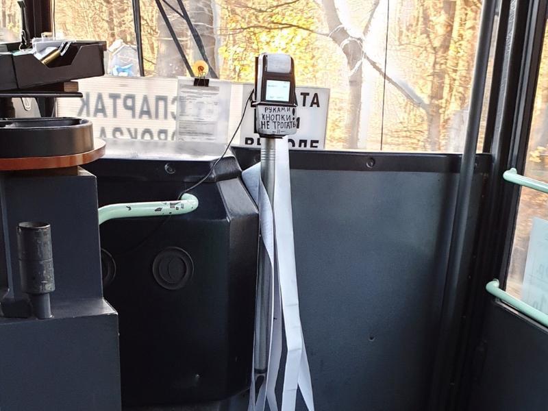 В воронежских автобусах устанавливают вторые терминалы для оплаты проезда