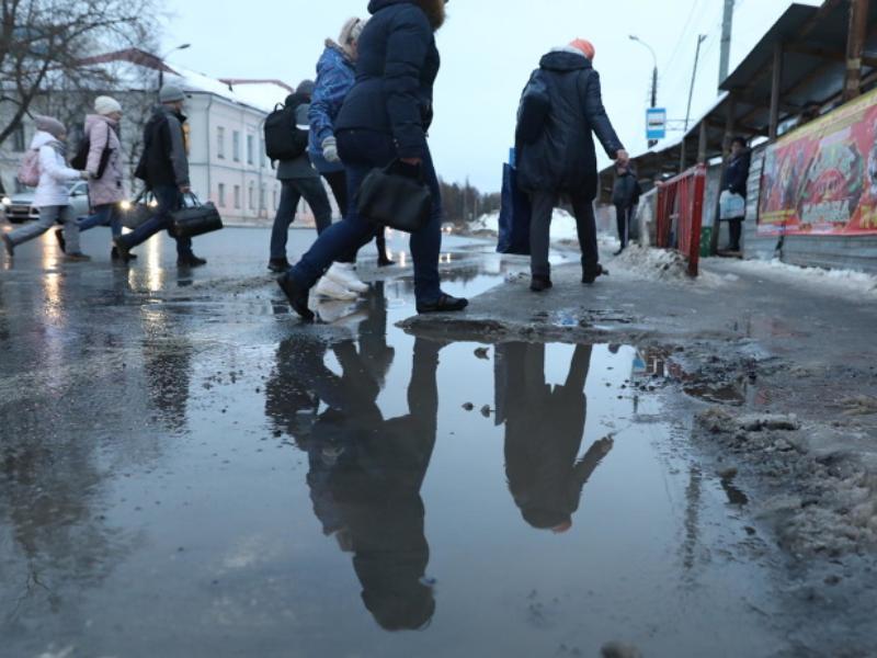 Плюсовая температура испортит праздники жителям Воронежа