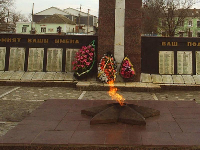 Два воронежских школьника сожгли венки павшим в Вечном огне