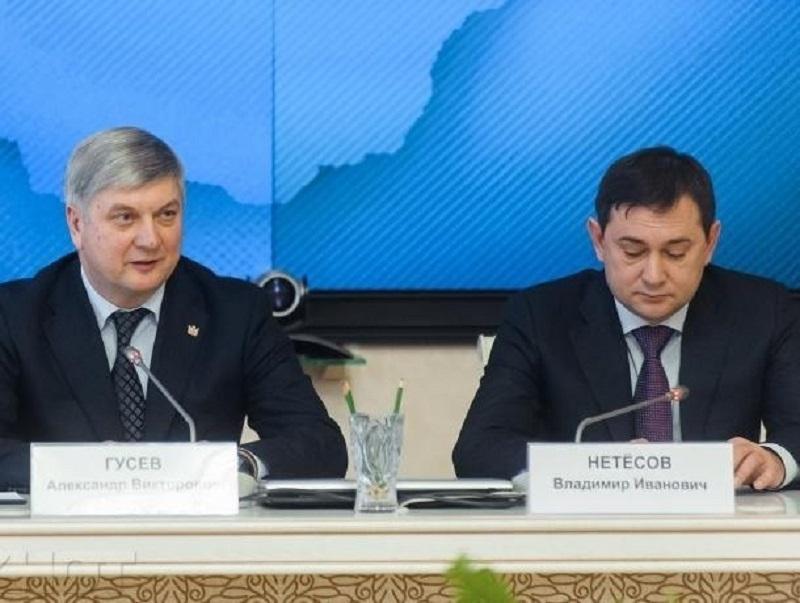 Губернатор Гусев и спикер Нетёсов оттолкнулись от  Паустовского, поздравляя работников культуры