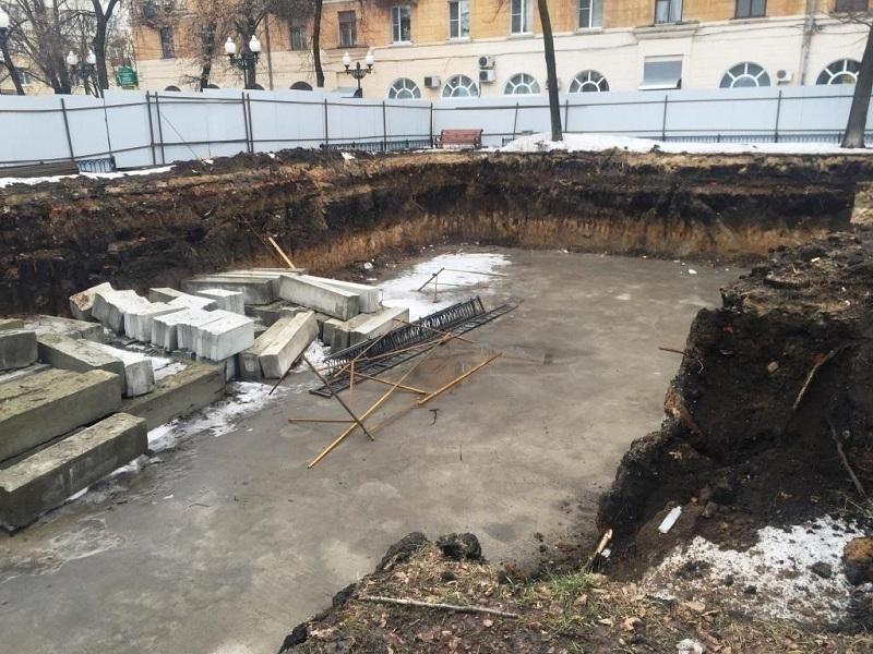 Строительство кафе около вокзала «Воронеж-1» воспрещено после вмешательства прокуратуры