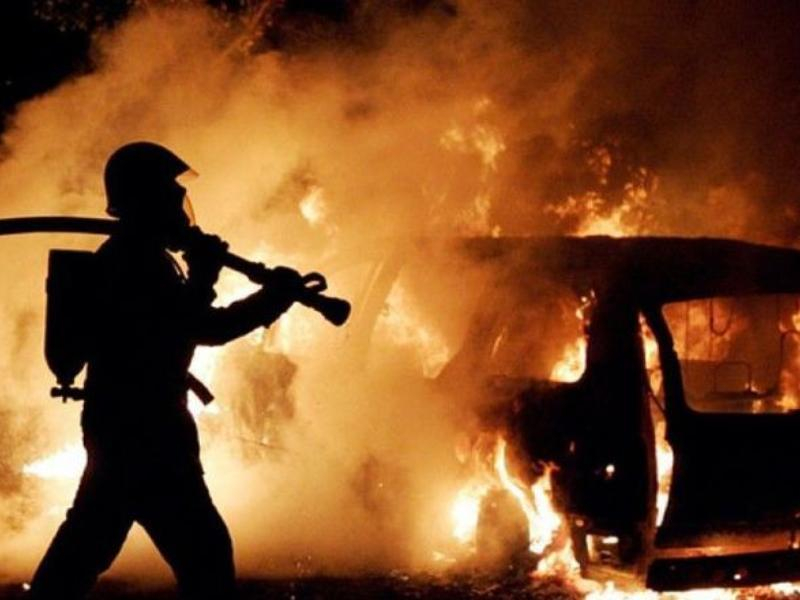 Две иномарки сгорели в Воронеже за несколько часов