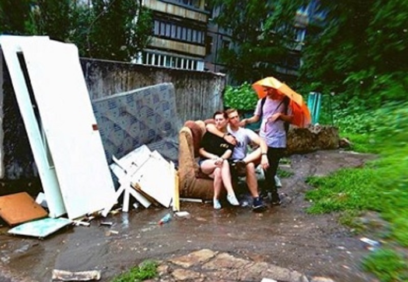 Жительница Воронежа показала, как вернулась на помойку после путешествий