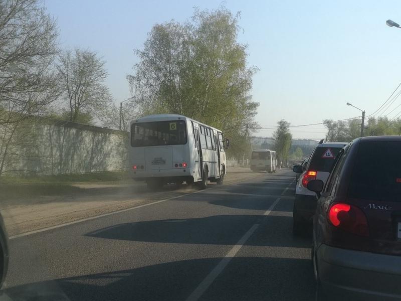 Бесстрашного маршрутчика на «встречке» настигла кара в Воронеже