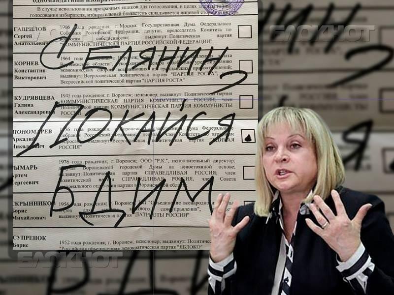 Элла Памфилова пожелала дойти до судебного решения «делу Селянина-Макина»