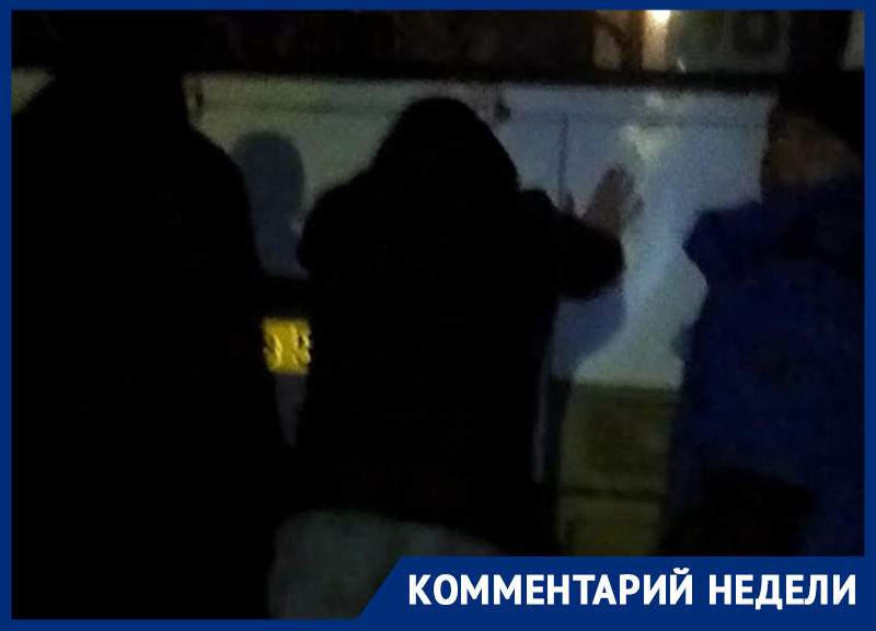 Мэрия Воронежа прокомментировала видео, на котором пассажиры толкают «Пазик»