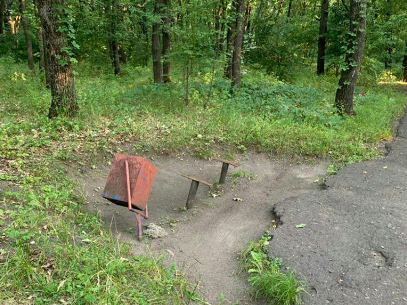 Потерявшийся во времени парк нашли под Воронежем