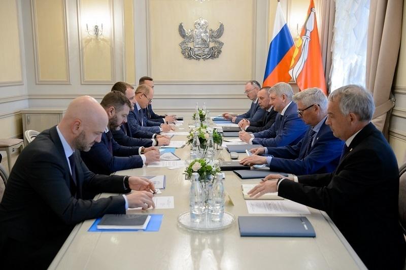 Газпромбанк описал губернатору Гусеву свою роль в Воронежской области