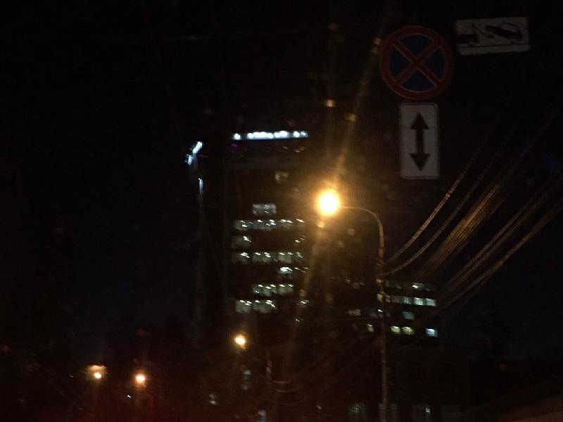 Светящийся символ 9-бальных пробок сняли в неожиданном месте в Воронеже
