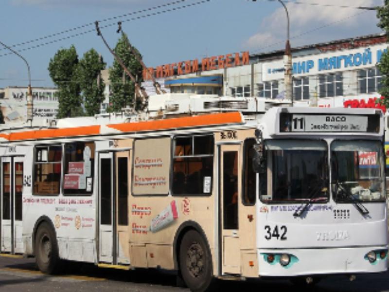 Троллейбус №11 временно перестанет ходить в Воронеже