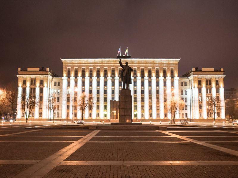 В Воронеже предложили осветить огнями памятник Ленину