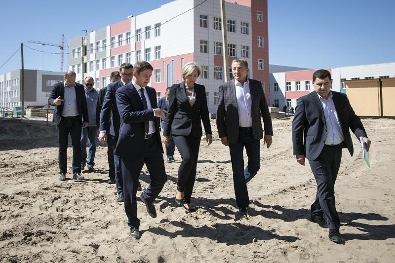 Федеральная группа контроля оценивает исполнение национальных проектов в Воронежской области