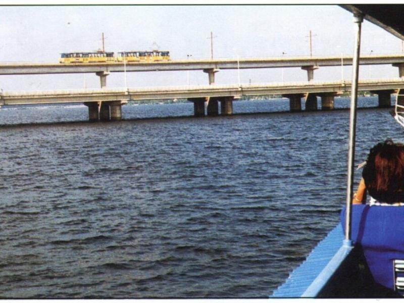 Архивное фото Северного моста заставило воронежцев ностальгировать
