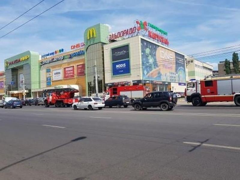 Причину скопления пожарных машин у «Максимира» раскрыли спасатели