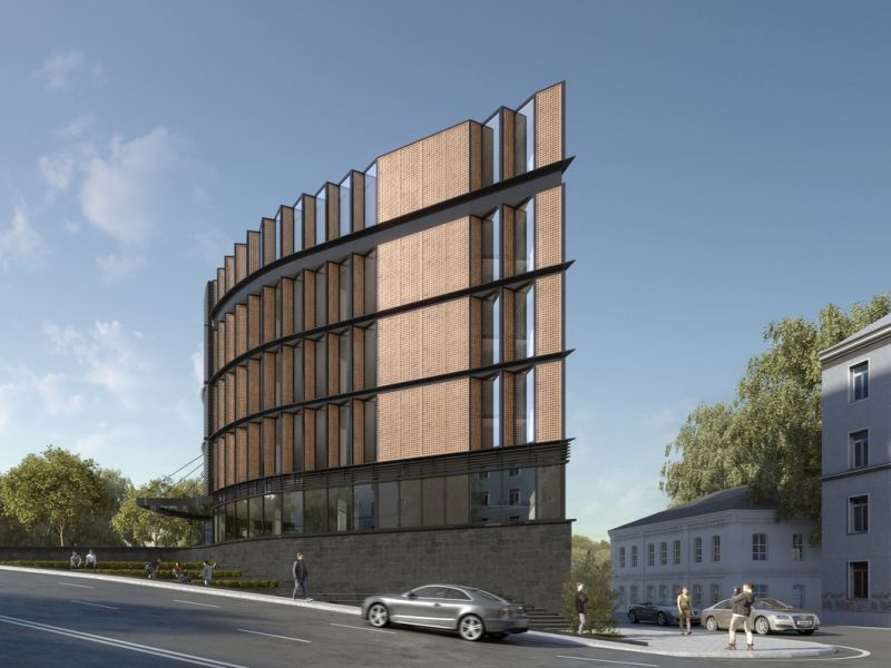 Новый бизнес-центр в Воронеже построят на спуске к Чернавскому мосту