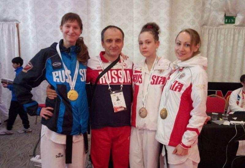 Воронежские тхэквондистки победили намеждународном турнире