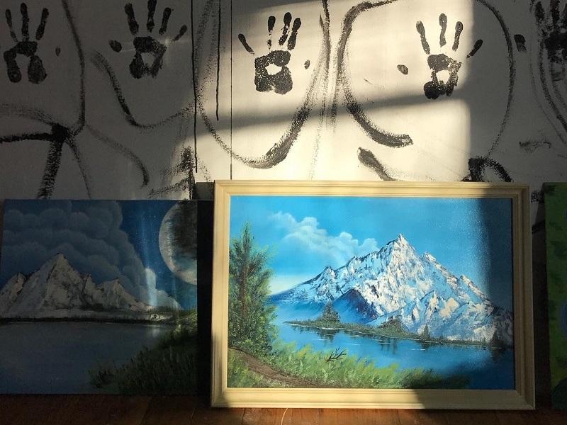 Воронежские художники бесплатно раздадут картины с уличной выставки