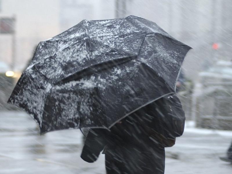 О мокром снеге с дождем предупредили синоптики воронежцев