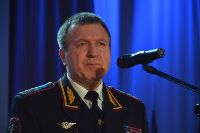 Нового руководителя воронежской полиции представили личному составу