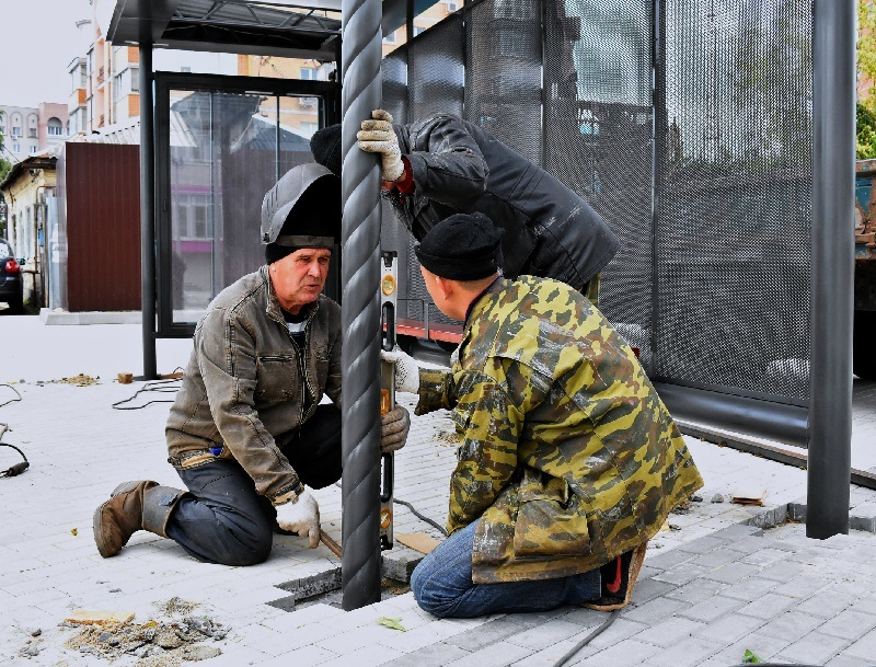 Новая «умная» остановка появилась в Воронеже