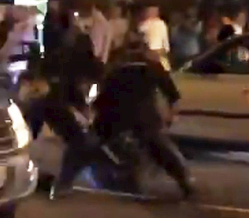 Зверское избиение болельщика воронежской полицией попало на видео