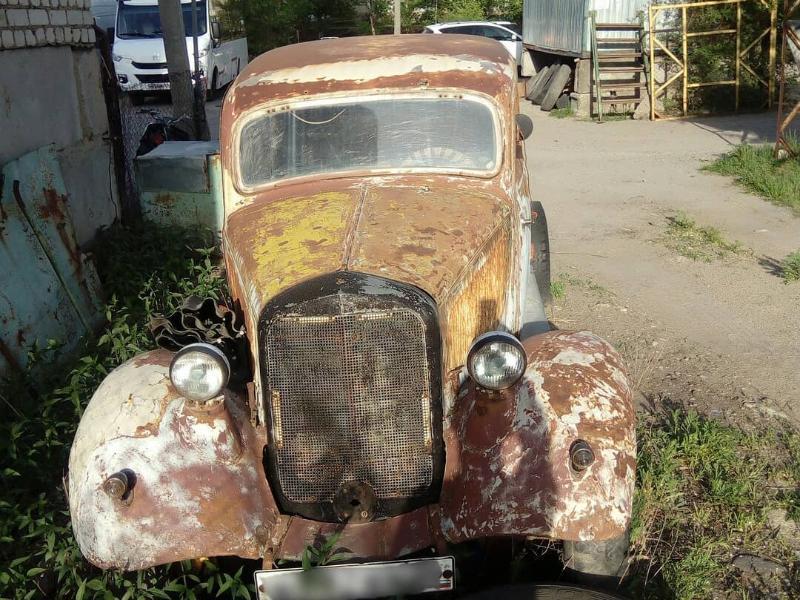 Mercedes «Штирлица» 30-х годов выбросили в Воронеже
