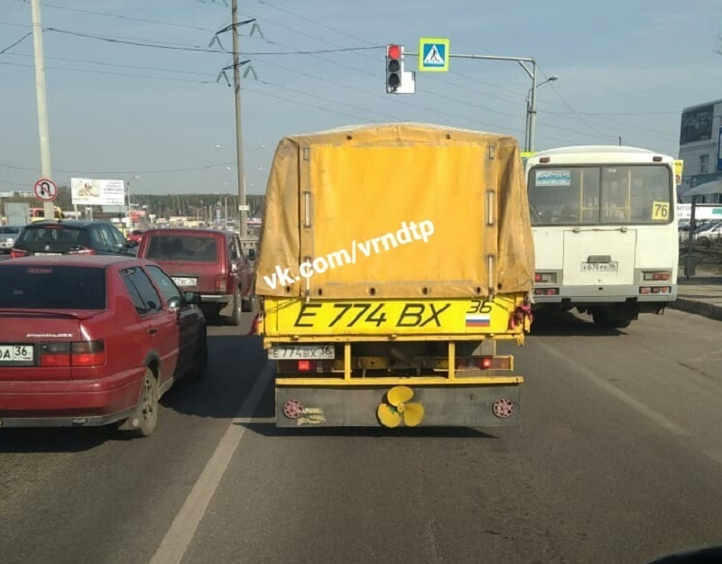 Автомобиль Карлсона поразил водителей пропеллером в Воронеже