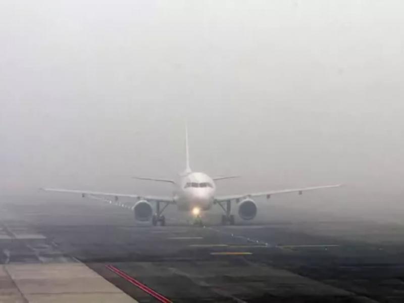Туман вызвал сбой в работе аэропорта в Воронеже