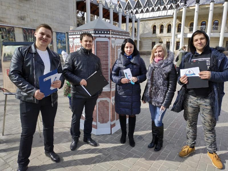 Молодые специалисты «РВК-Воронеж» проверили горожан на знание истории водопровода