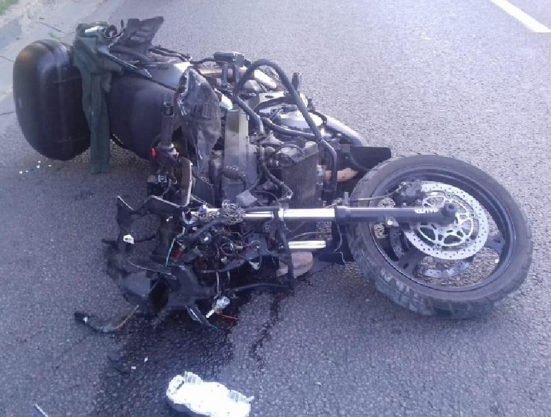 Стали известны подробности ДТП с байкером, сбившего мужчину в Воронеже
