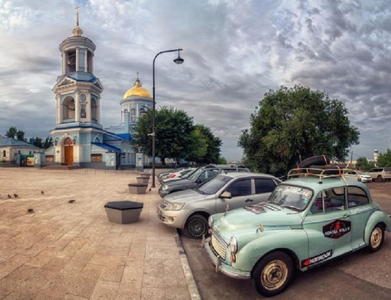 На дорогах Воронежа замечен Morris Minor 1967 года
