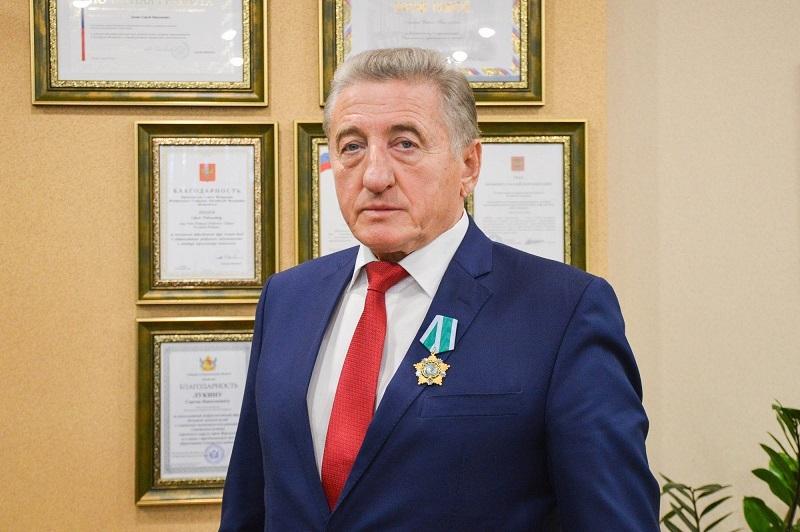 Воронежскому сенатору Сергею Лукину вручили Орден Дружбы