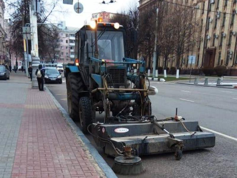 Мэрия Воронежа во всей красе показала передовые агрегаты
