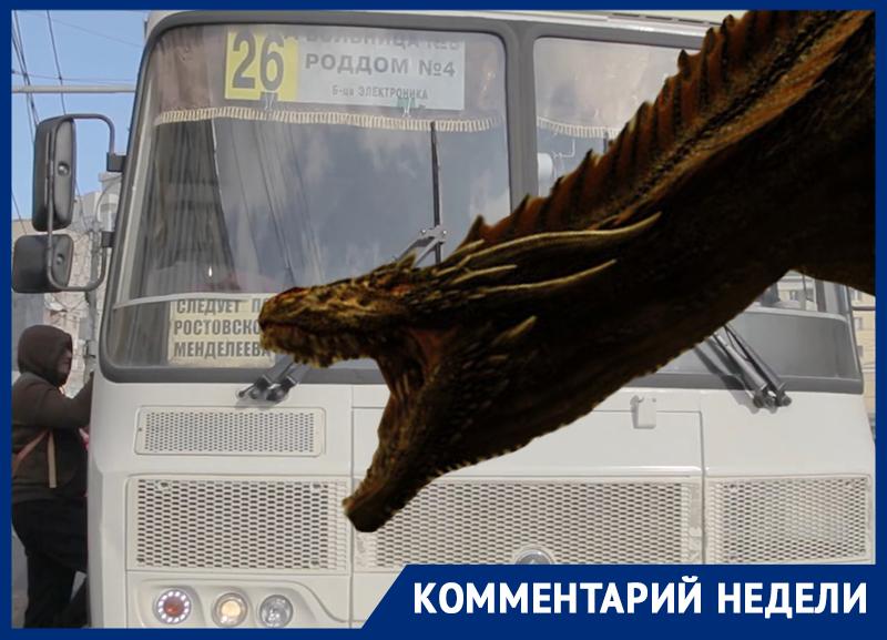Как частные маршрутчики убили муниципального «дракона» в Воронеже