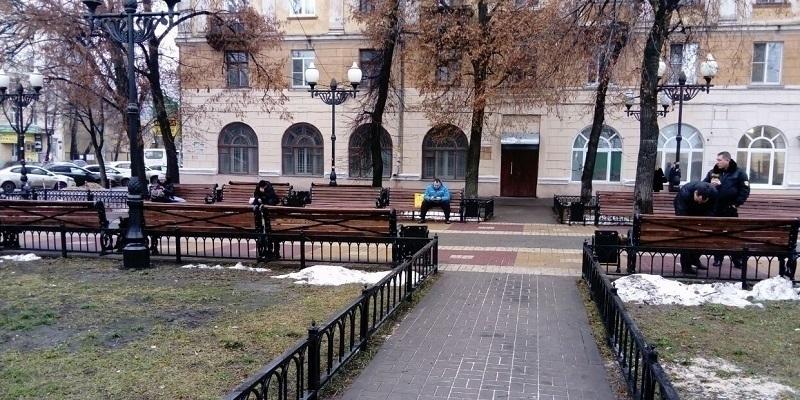 На месте «архбандитизма» в центре Воронежа проведена невидимая реконструкция