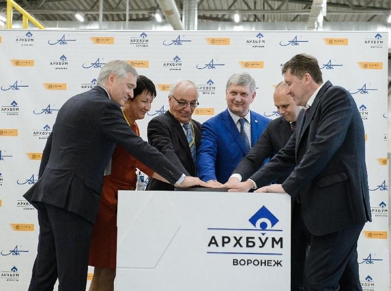 Завод по производству гофрокартона открылся под Воронежем