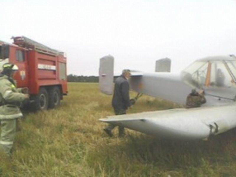 В Воронежской области произошла авиакатастрофа: упал легкомоторный самолет