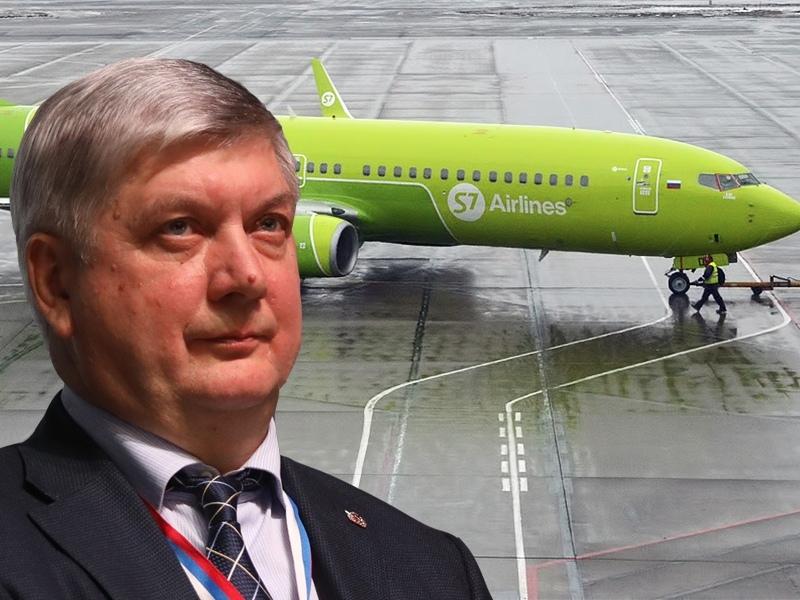 Самолет с Александром Гусевым не смог вылететь из Воронежского аэропорта