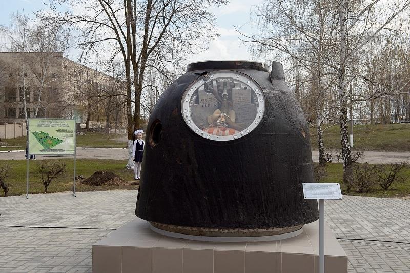 Капсулу космического корабля «Союз» установили в Воронежской области
