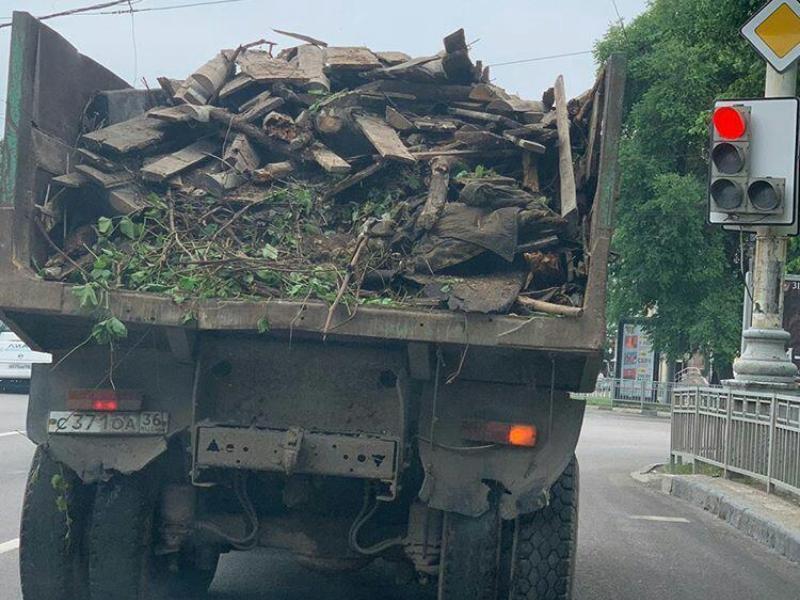 Воронежский «Пункт назначения» испугал автомобилистов в центре города