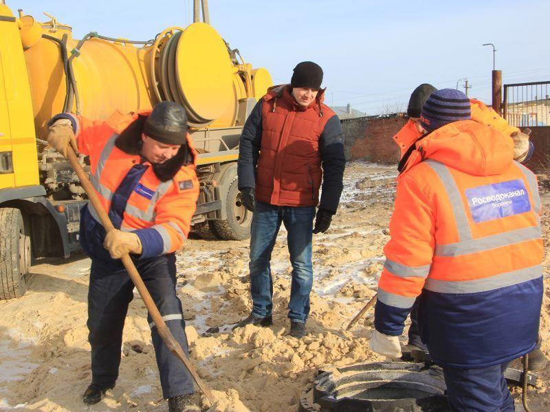 В Воронеже стартовала ежегодная кампания по ремонту сетей водоснабжения и водоотведения