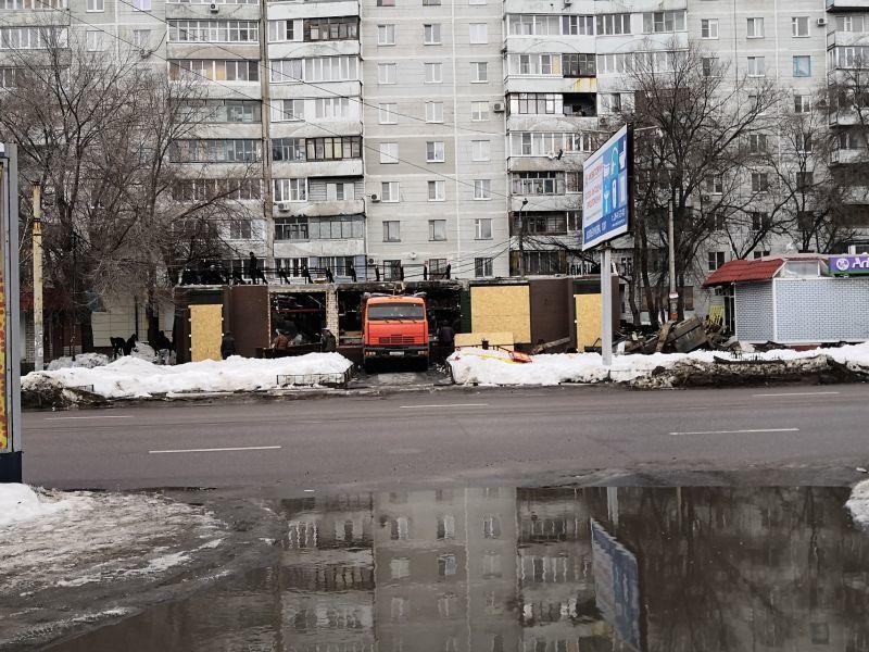 Популярное кафе сносят в Воронеже