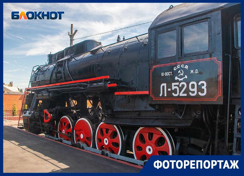 Красоту уникальных ретропоездов детально показали в Воронеже