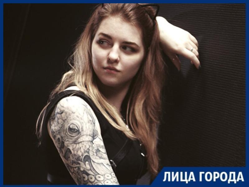 Родители называют меня кольщицей, - воронежская татуировщица Лера Сергеева