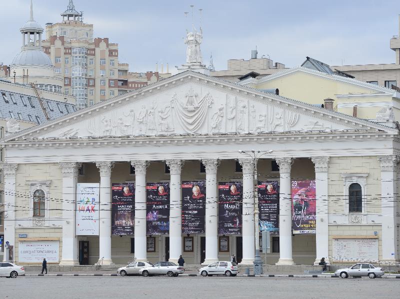 Театр оперы и балета построят с нуля в Воронеже
