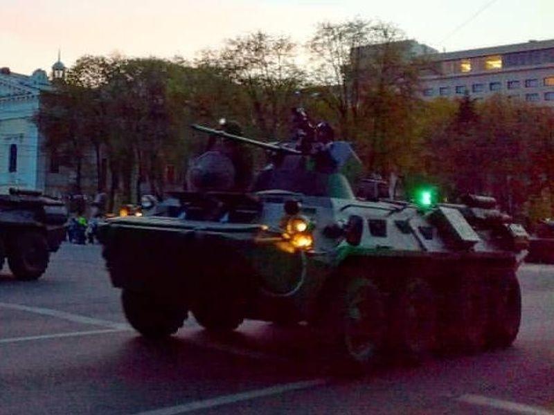 Названы даты репетиций парада Победы в центре Воронежа
