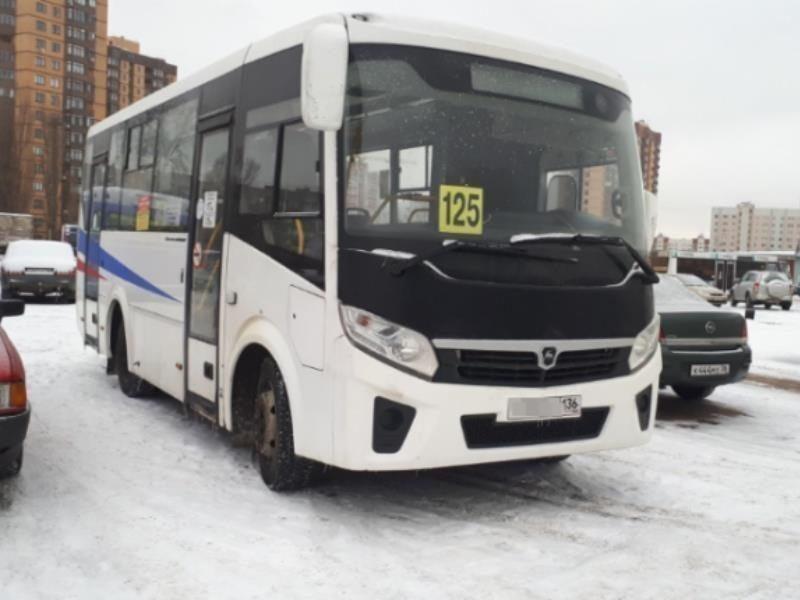 Автобус №125 снова изменит маршрут в Воронеже