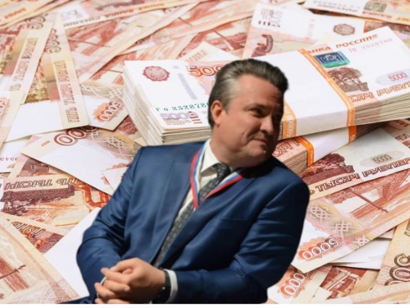 Кресло мэра Воронежа принесло Вадиму Кстенину небывалый доход