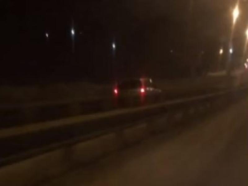 Экстремальную езду по «встречке» сняли на видео на воронежской трассе